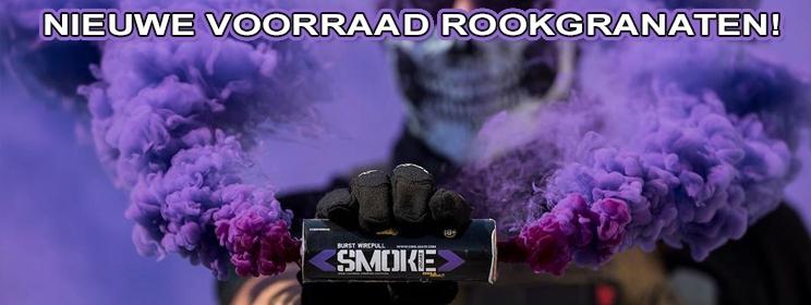 enola gaye smoke rookgranaat paintball aanbieding